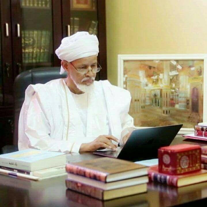 الشيخ الخليل النحوي رئيس مجلس اللسان العربي بموريتانيا