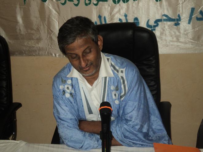 الدكتور يحيى البراء عضو مجلس اللسان العربي بموريتانيا